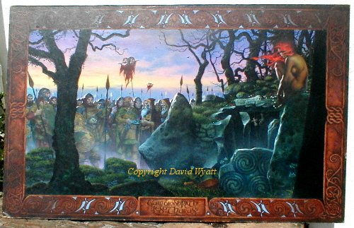 Original Painting by artist David Wyatt