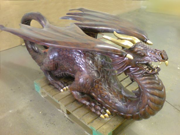 Dragon Table Almost Finished and Ready to Go