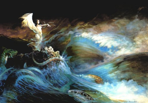 Sea Witch - Frank Frazetta