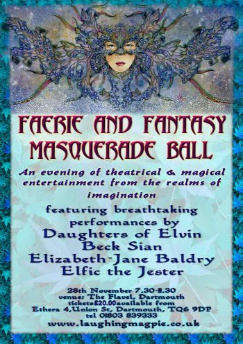 Faerie and Fantasy Masquerade Ball