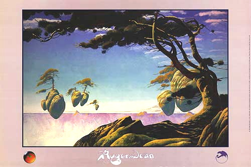 This image of it is from the Roger Dean Floating Islands poster published by Pomegranate